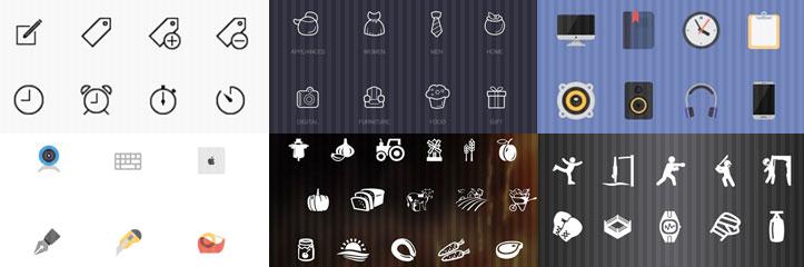 2000以上のiOS、Android用フリーアイコンまとめ