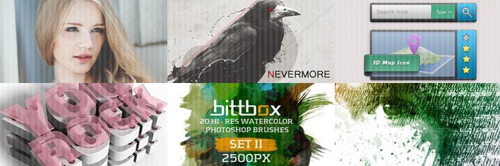 一瞬で画像をプロっぽく!65の無料Photoshopアクション